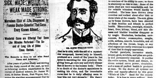 Historia reklamy i patentów leków [cz. 1]