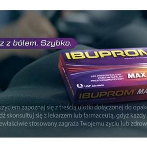 Drobnym drukiem: Ibuprom MAX Sprint