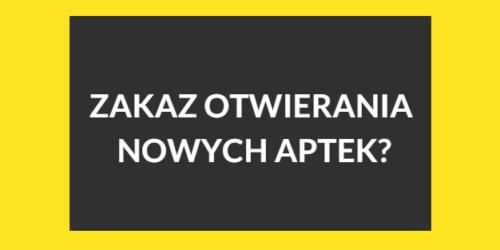 Gazeta Prawna: zakaz otwierania nowych aptek realny