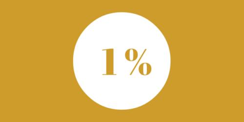 1 % wątpliwości…