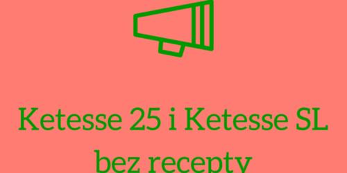 URPL: Zmiana pozwoleń w sprawie Ketesse 25 i Ketesse SL