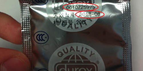 Uwaga na sfałszowane prezerwatywy Durex Extra Safe