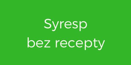 Syresp dostępny bez recepty