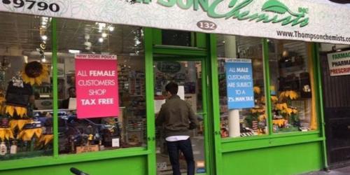 Ta apteka każe mężczyznom płacić o 7% więcej