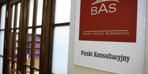 BAS: Jeden z proponowanych zapisów może być uznany za sprzeczny z prawem UE