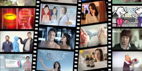 Recepcjonistka w reklamie wyręcza lekarza