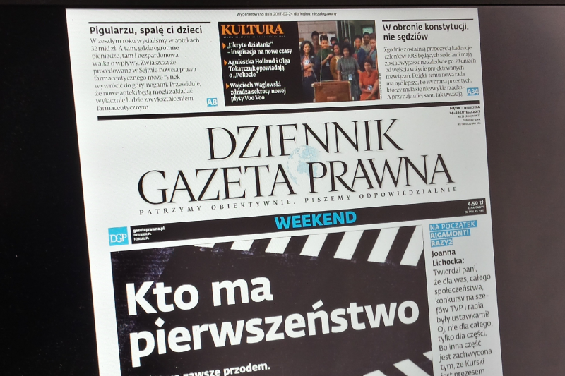 Dziennik Gazeta Prawna: Pigularzu, spalę Ci dzieci