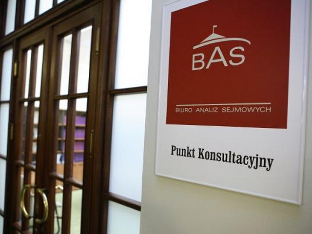 Szyld Punktu Konsultacyjnego BAS