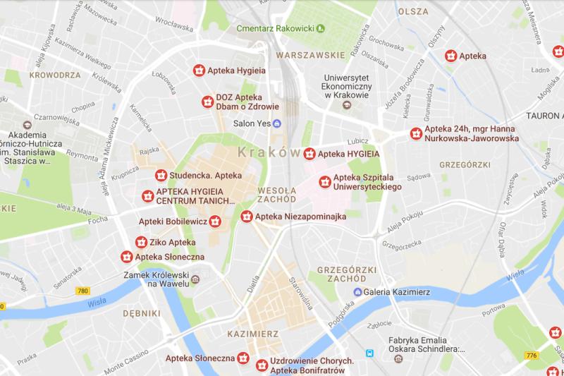 Barbara Jękot: Wystarczy popatrzeć na przykład na ulicę Kalwaryjską w Krakowie. Apteki tam ze sobą sąsiadują drzwi w drzwi!