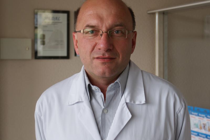 Mariusz Politowicz, członek Naczelnej Rady Aptekarskiej (fot. Łukasz Waligórski)