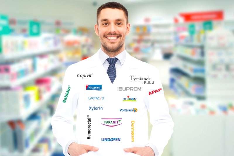 Czy pracownik apteki musi robić za słup reklamowy dla firmy farmaceutycznej lub kosmetycznej