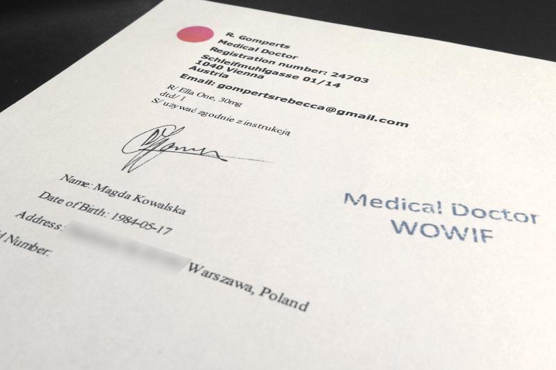 Tomasz Leleno: Własnoręczny podpis powinien znajdować się na awersie recepty. Każdy farmaceuta powinien wiedzieć, jak wygląda prawidłowo wystawiony dokument.