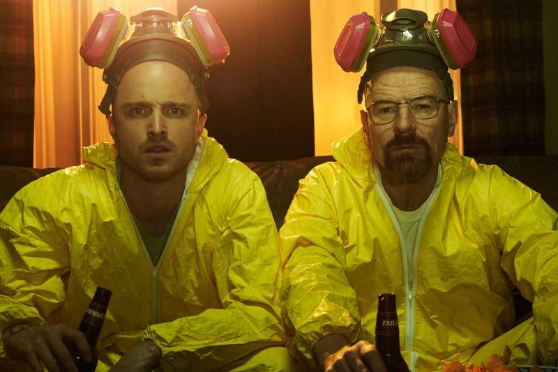 "Bohaterowie serialu ""Breaking Bad"" produkowali metamfetaminę z pseudoefedryny."