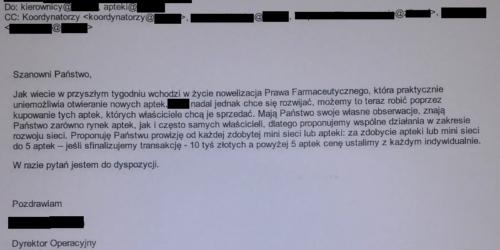 Sieć chce się rozwijać. Kierownicy mają w tym pomóc… za 10 000 zł.