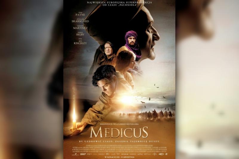 "Okładka płyty z filmem ""Medicus"""