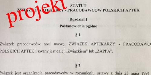 Projekt statutu ZAPPA