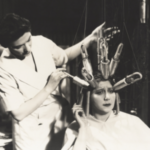 Fryzjerka, która leczy…