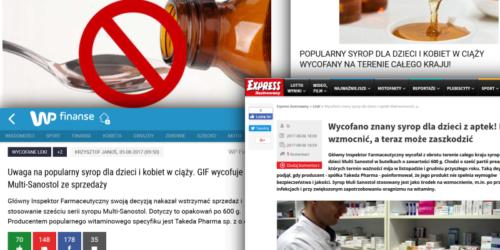Wstrzymanie i wycofanie leku… czyli jak media sieją panikę!