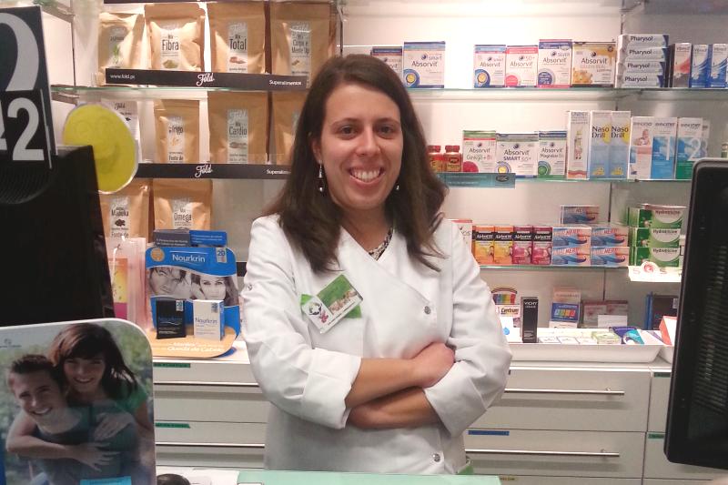 Sara Caeiro, farmaceutka z Farmácia Ronil w Lizbonie.