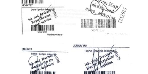Uwaga na fałszywe recepty w dolnośląskim