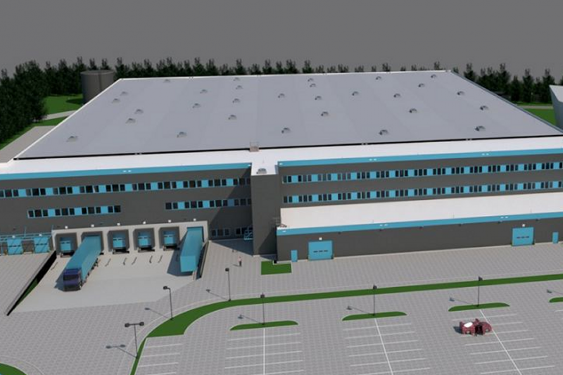 Zatrudnienie w centrum logistycznym znajdzie 400 osób, przy czym ok. 100 pracowników przeniesie się ze starego magazynu przy Szosie Bydgoskiej. (fot. materiały prasowe)