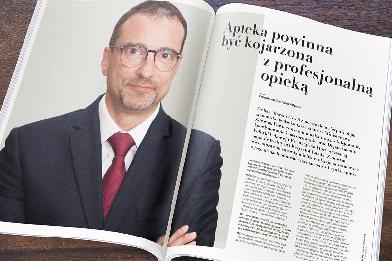 Nie trwają żadne prace związane z tym, aby móc legalnie reklamować apteki w Polsce - twierdzi Marcin Czech. (fot. MGR.FARM / MZ)