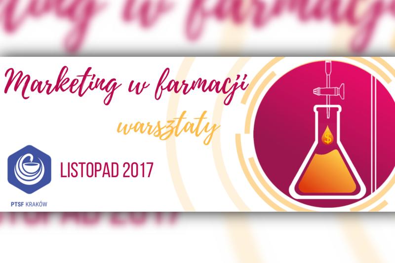 """Warsztaty """"Marketing w farmacji"""" organizowane są przez krakowski oddział Polskiego Towarzystwa Studentów Farmacji. (fot. facebook.com/marketingwfarmacji)"""
