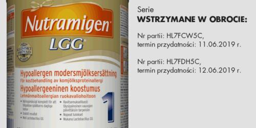 Dystrybutor wstrzymuje obrót Nutramigenem 1