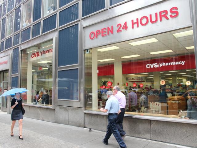 W niektórych rejonach USA możliwa będzie dostawa zamówień z aptek CVS nawet tego samego dnia. (fot. Shutterstock)
