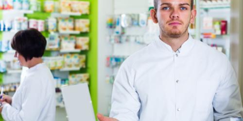 Bunt młodego farmaceuty