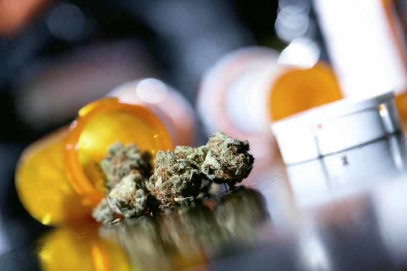 Lekarze przepisują medyczną marihuanę, ale pacjenci nie mogą zrealizować recept (fot. Shutterstock).