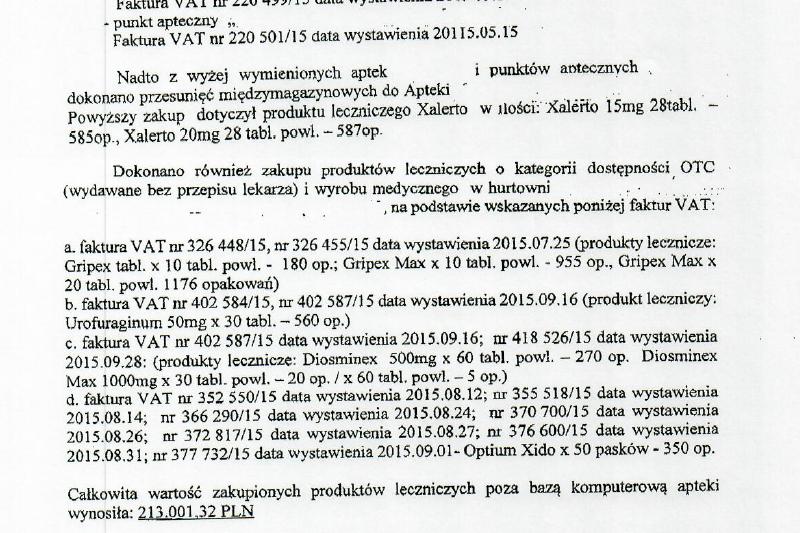 Apteka miała prowadzić sprzedaż w dwóch systemach komputerowych. (fot. WIF Poznań)