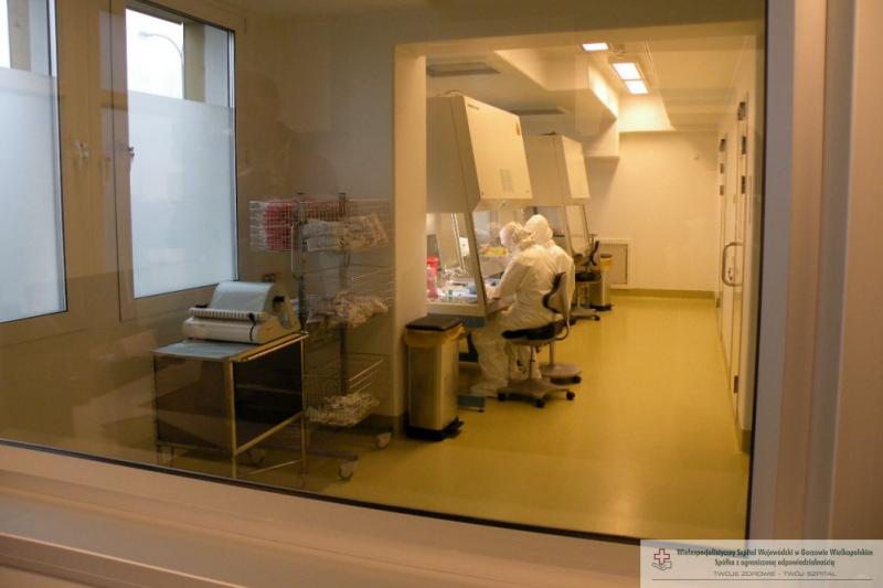 Centralna Pracownia Leku Cytostatycznego (fot. WSzW w Gorzowie)