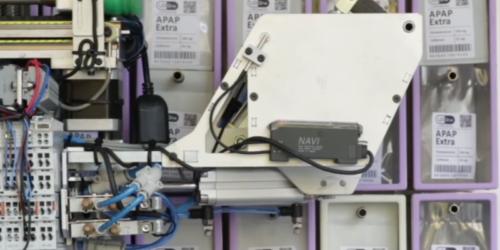Polski robot przygotuje leki w szpitalach