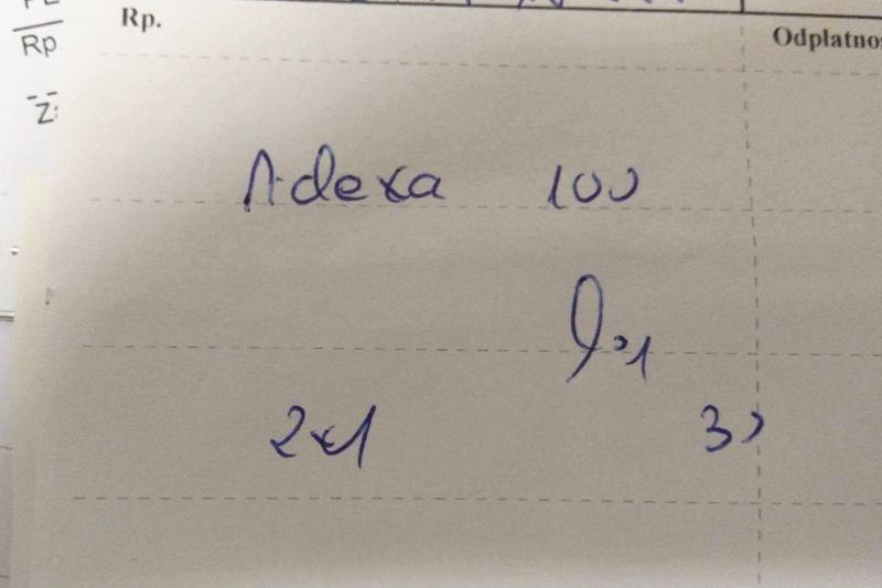 Adexa czy Aclexa? Farmaceuci mają problem z odróżnieniem nazw tych leków. (fot. Facebook / Farmaceutyczny suchar na dzisiaj / Krzysztof Kamyszek)