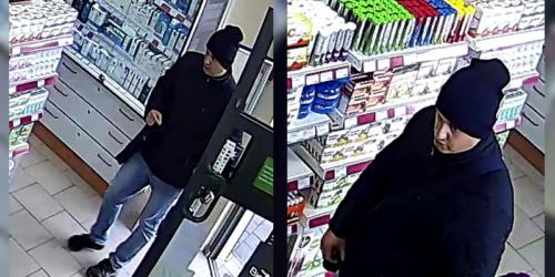 Policja poszukuje złodzieja z apteki