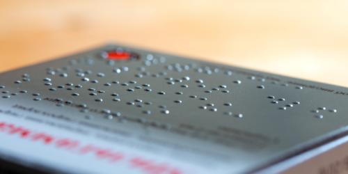 Jak niewidomi widzą leki?