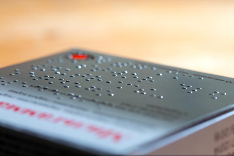 Podstawą, z której wyprowadza się cały system Braille'a, jest sześciopunkt nazywany znakiem tworzącym. (fot. Shutterstock)