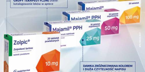 Polpharma zmienia opakowania leków na receptę