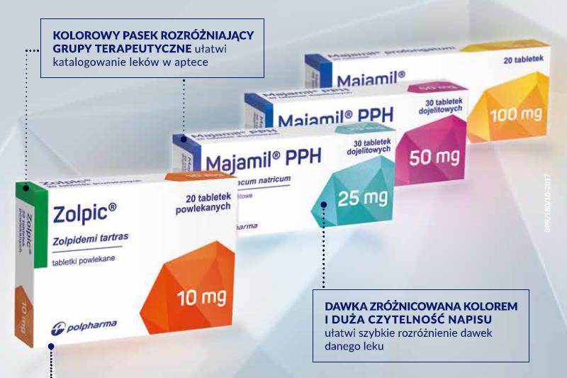 Zmiana opakowań leków Rx w Grupie Polpharma weszła w fazę wdrażania. (fot. Farmacja Praktyczna)