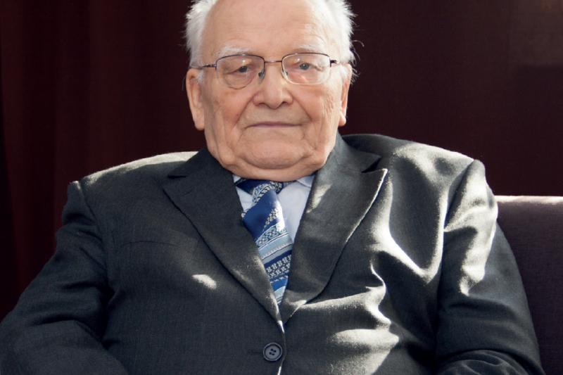 Profesor Waldemar Janiec (fot. mgr.farm)