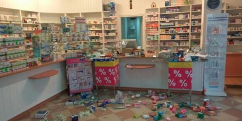 Zdemolował aptekę, bo farmaceutka odmówiła wydania leku