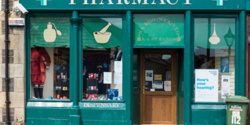 Szkocja farmacją stoi