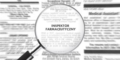 Jest ciągle za mało kontrolerów inspekcji farmaceutycznej