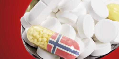W ciągu czterech lat ceny leków w Norwegii wzrosły o niemal połowę