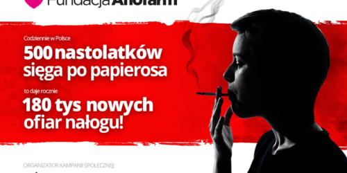 """Fundacja Aflofarm prowadzi antynikotynową kampanię społeczną """"Nie Spal się na Starcie"""""""