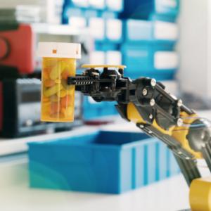 Robot podaje leki w wileńskim szpitalu