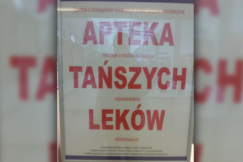 Pozorne informowanie pacjentów o zamiennikach, które jest ukrytą reklamą, było już wielokrotnie przedmiotem orzekania przez WSA w Warszawie. (fot. NIA)