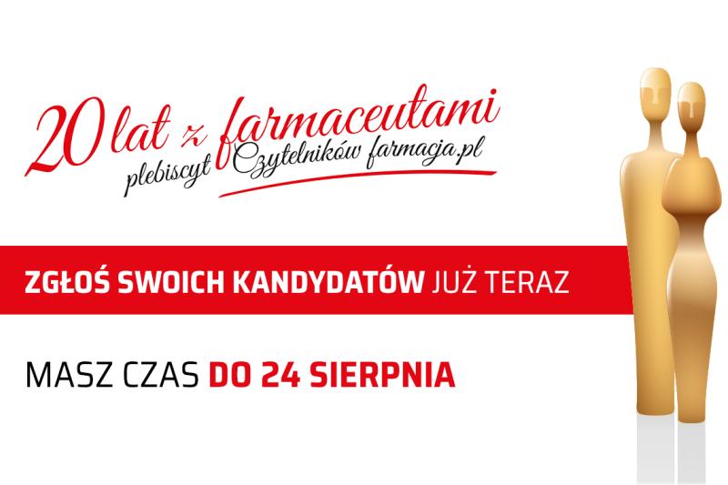 Laureaci plebiscytu i lista nagrodzonych głosujących zostaną przedstawione 24 września 2018 r.
