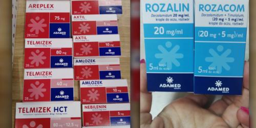 Farmaceuci krytykują nowe opakowania leków Adamedu. Producent przekonuje, że są czytelne…